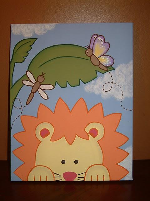 Toile acrylique pour chambre enfant et photo echographie for Toile chambre enfant
