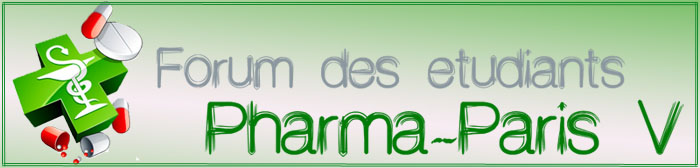 Forum des �tudiants en Pharmacie de Paris Descartes