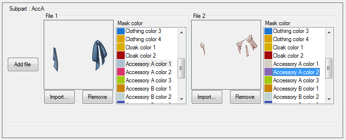 Add new resource mask color ID
