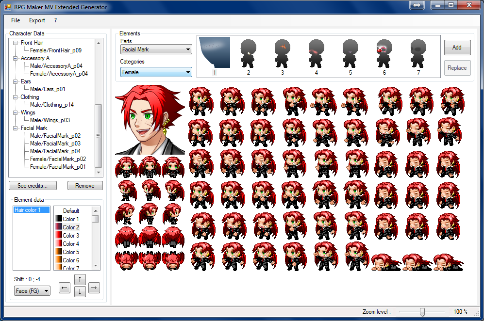 RPG Maker MV Extended Generator - Version Alpha 0 09 - Update on the