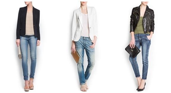 o que vestir com jeans