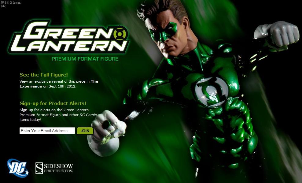 green lantern premium format page 2
