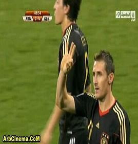 فوز ألمانيا 4-0 على الأرجنتين تحميل ومشاهدة أهداف المباراة