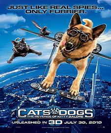 مترجم فيلم Cats And Dogs 2 2010 TS الجزء الثاني
