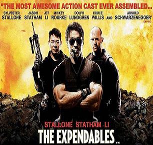 النسخة الـ BDrip لفيلم The Expendables 2010 تحميل ومشاهدة