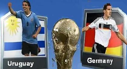 وأوروجواي 2010 Germany Uruguay live german11.jpg