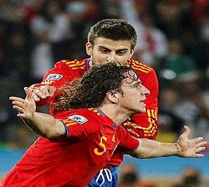 اسبانيا تفوز 1-0 على المانيا وتقابل هولندا نهائي كأس العالم