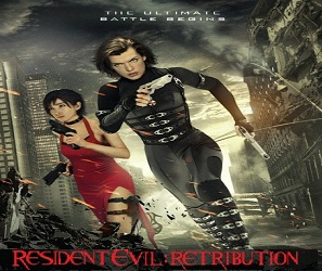 بإنفراد فيلم Resident Evil 5 Retribution 2012 مترجم بجودة TS