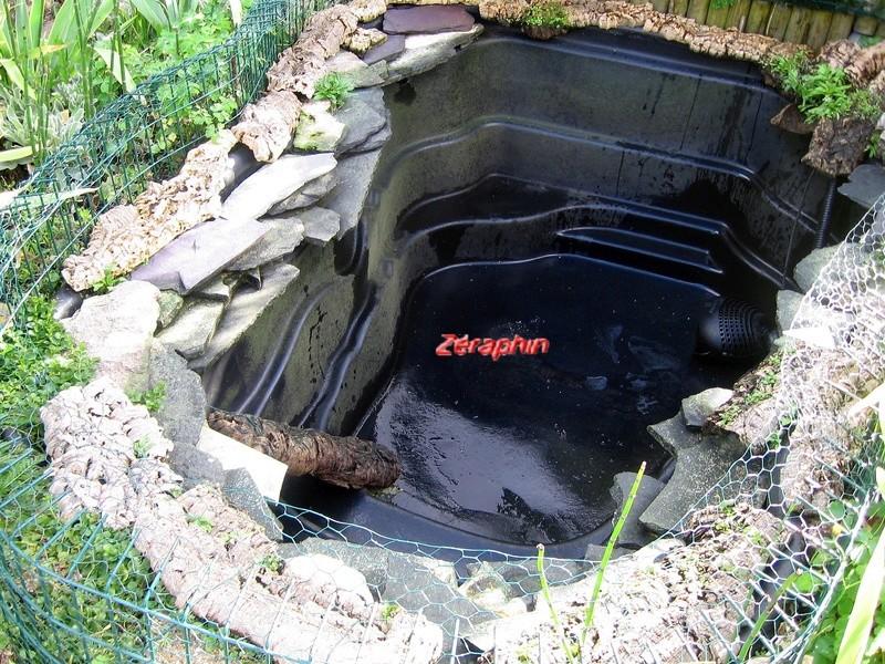 Conseils d 39 am nagement d 39 un bassin pr form pour emydid s - Bassin d ornement preforme besancon ...