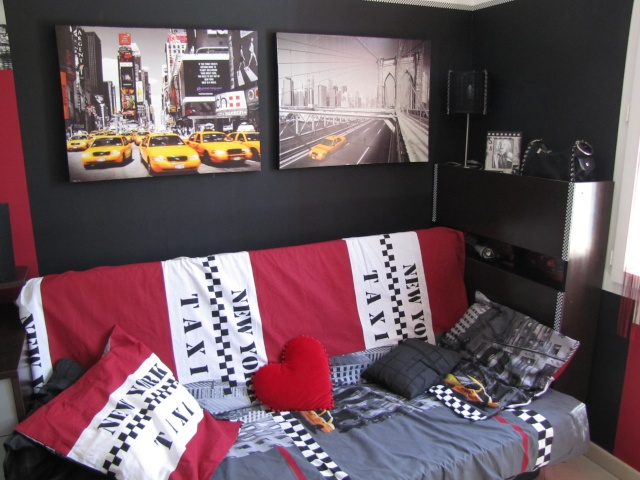 D co chambre ado chambre city chambre new york marilyn for Idee decoration chambre ado new york
