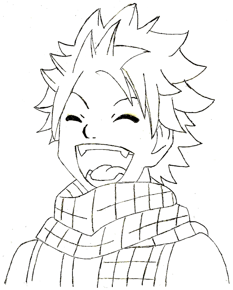 Pin natsu coloriage on pinterest - Dessin anime de fairy tail ...