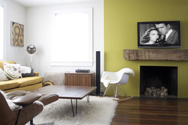 La maison de cha francky le salon est fini place a la deco p5 page 1 - Refaire une cheminee ...