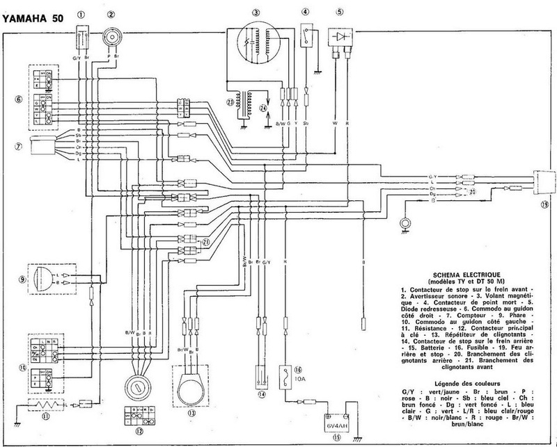 schema electrique moto yamaha  u2013 id u00e9es d u0026 39 image de moto