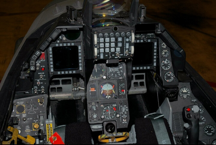 F 16 Fighter Jet Cockpit F 16 B BLOCK 15