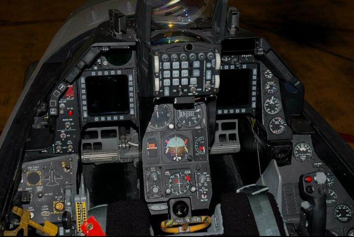 F 16 Fighter Jet Cockpit F 16 B BLOCK 15