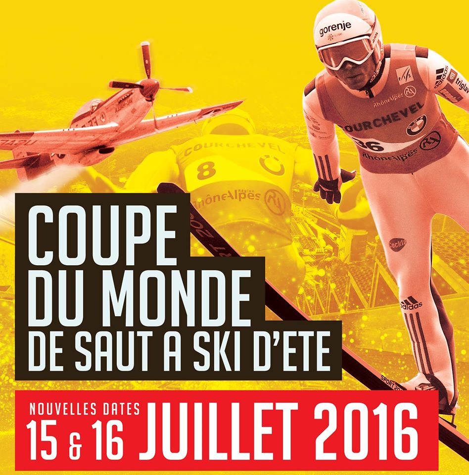 skijumpingworldcup , Fête de l'Air est associée à la Coupe du Monde de Saut à Ski,Courchevel World Cup 2016, Meeting Aerien 2016,Airshow 2016, French Airshow 2016