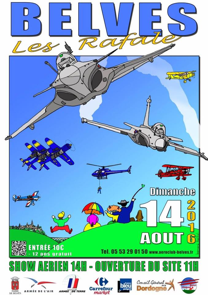 Meeting Aerien Belves 2016, Meeting Aerien 2016,Airshow 2016, French Airshow 2016