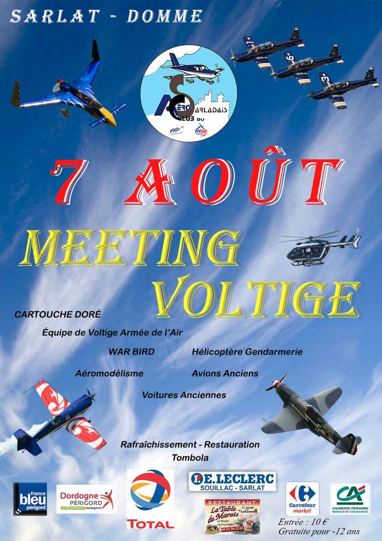 Meeting Aérien de Sarlat 2016, Meeting Aerien 2016,Airshow 2016, French Airshow 2016