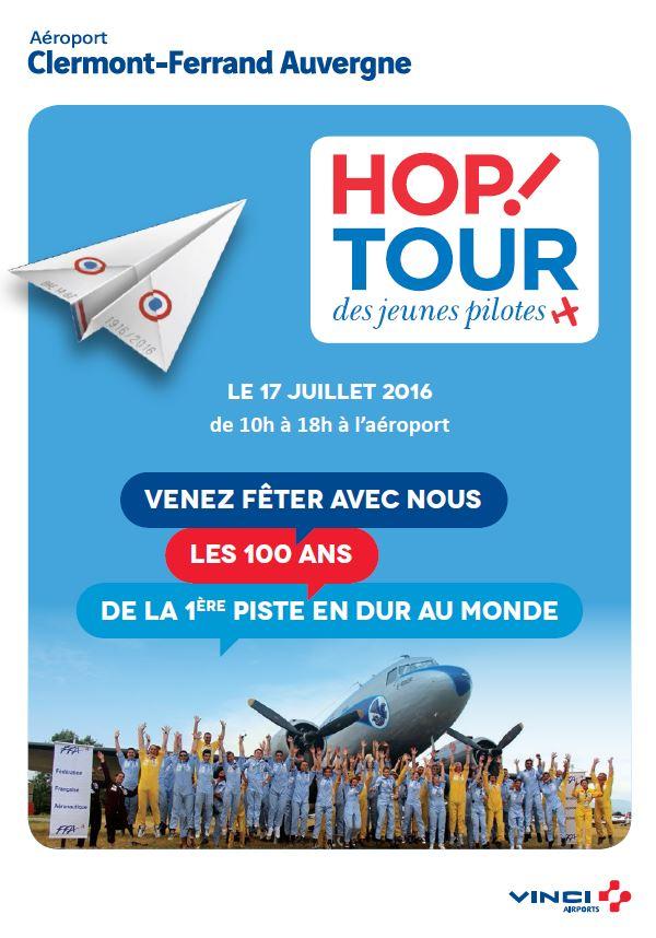 100 ans piste en dur clermont-ferrand aeroport, hop tour, Meeting Aerien 2016,Airshow 2016, French Airshow 2016