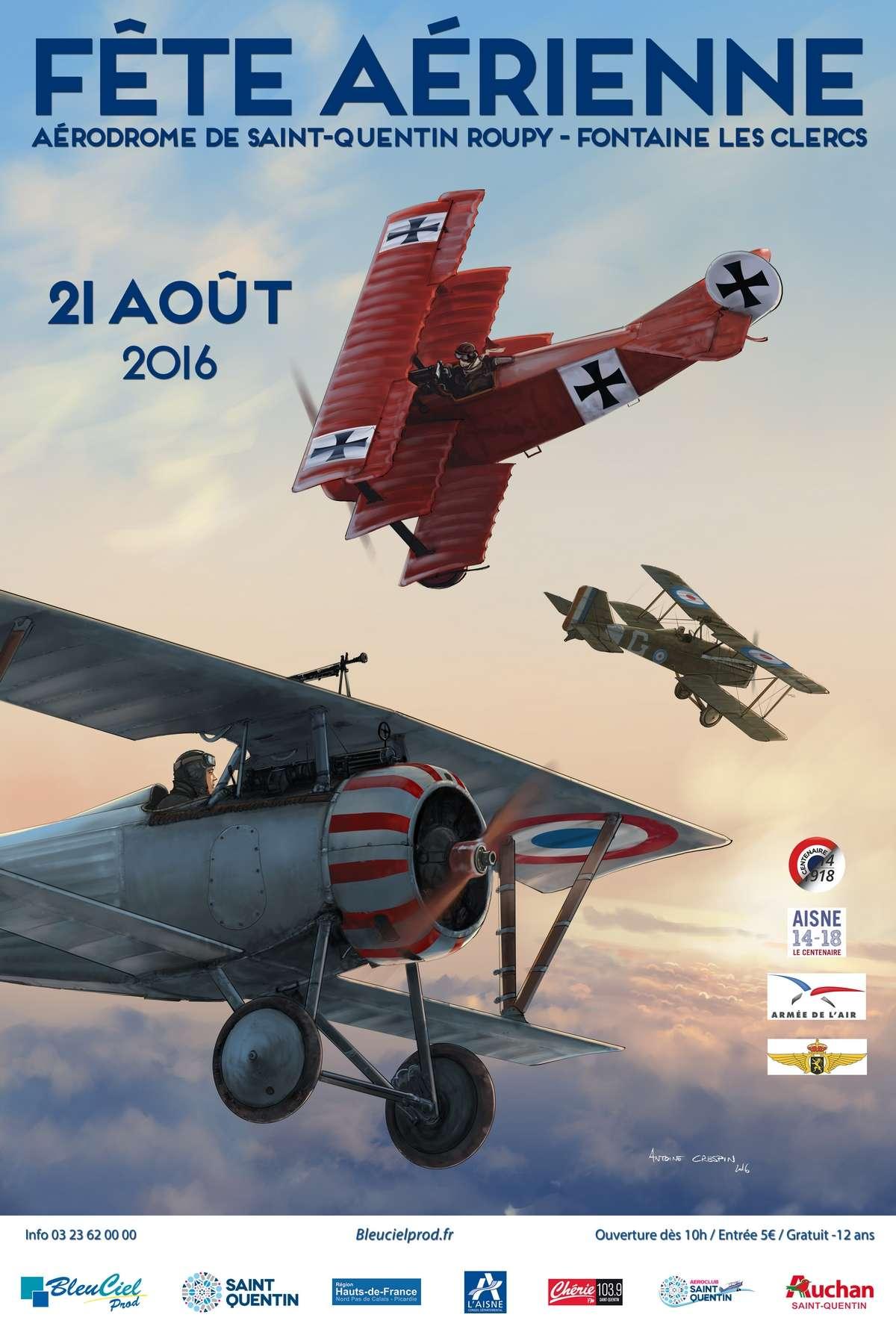 Fête Aérienne ST-Quentin/Roupy 2016, Meeting Aerien 2016, Airshow 2016, French Airshow 2016
