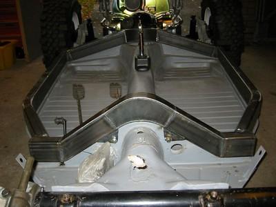 Vw bug body lift install