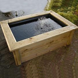 bassin hors sol 400 l sur terrasse d 39 appartement. Black Bedroom Furniture Sets. Home Design Ideas