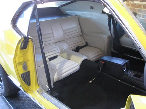 Inertia Reel Seat Belts 1969 Mach 1
