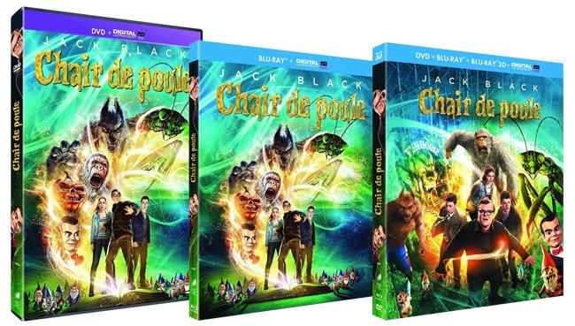 Actualite Dvd Blu Ray Chair De Poule Le Film Actuellement