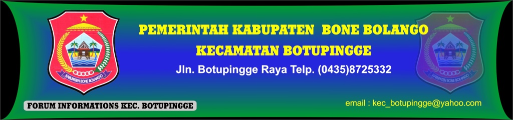 Kantor Kecamatan Botupingge