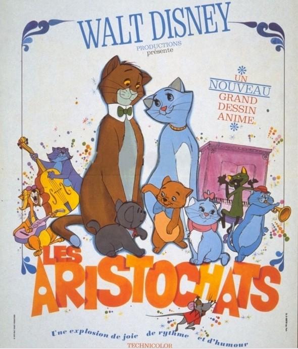 Dessin Anim 1970: [Walt Disney] Les Aristochats (1970)