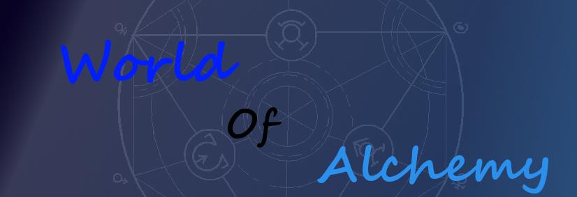 World of Alchemy