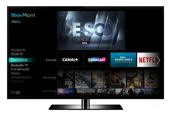 la nouvelle interface tv de la bbox miami en phase de d ploiement. Black Bedroom Furniture Sets. Home Design Ideas