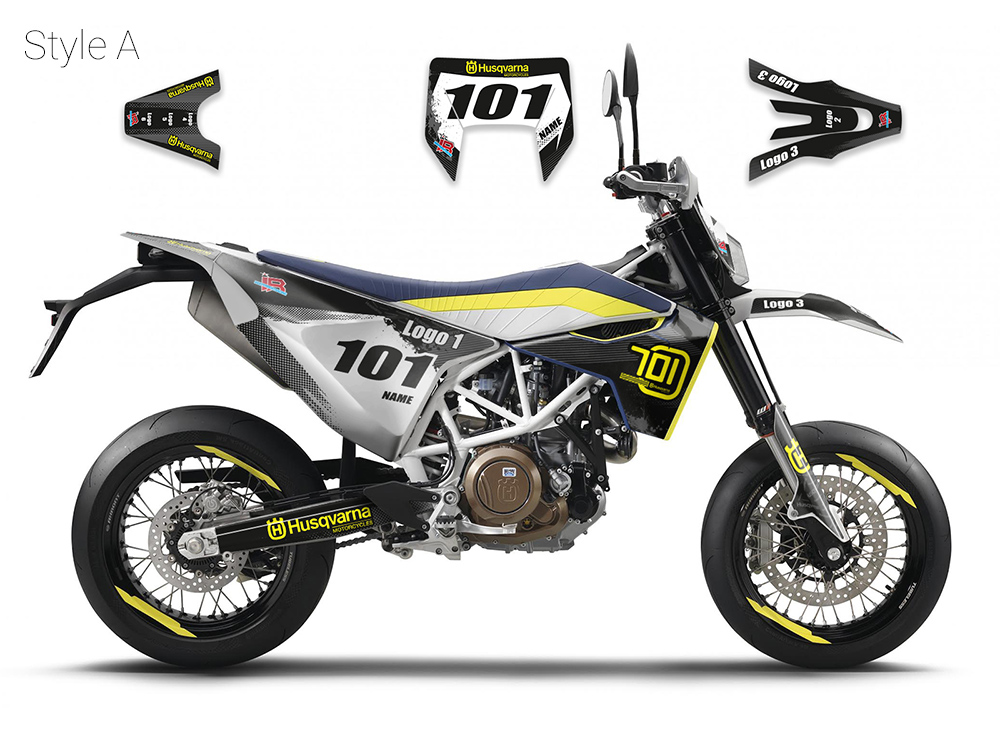 kit d co husqvarna 701 supermoto. Black Bedroom Furniture Sets. Home Design Ideas