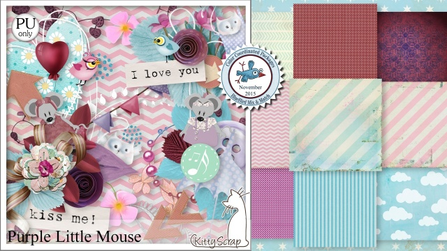 Purple little mousse de Kittyscrap dans Juillet kittys13