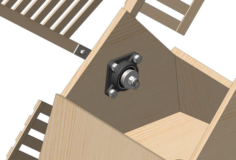 Moulin a vent page 4 for Moulin en bois pour jardin