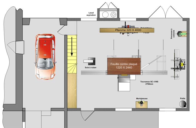 Reflexions sur le futur atelier r alisation page 1 - Plan d atelier de bricolage ...