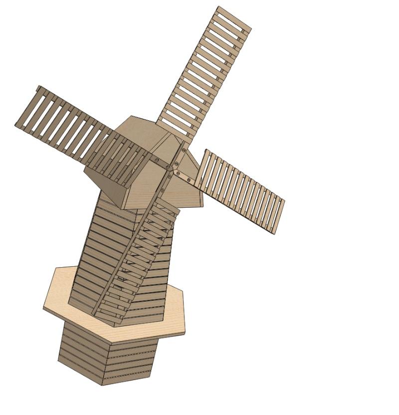 Moulin a vent page 3 - Moulin a vent en bois a fabriquer ...