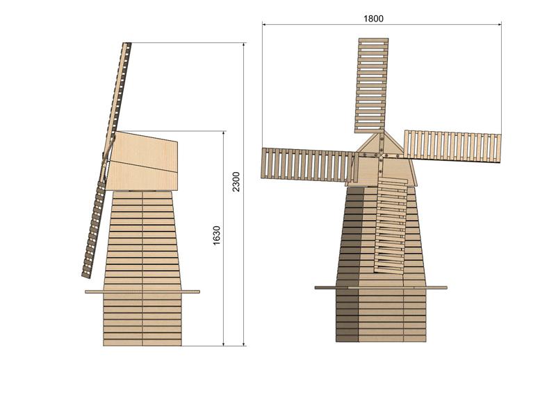 Moulin a vent page 2 - Moulin a vent en bois a fabriquer ...