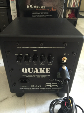 Rel Quake Subwoofer Used Sold
