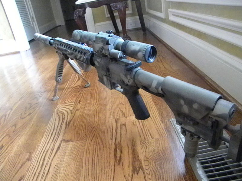 Completed M16 Prs