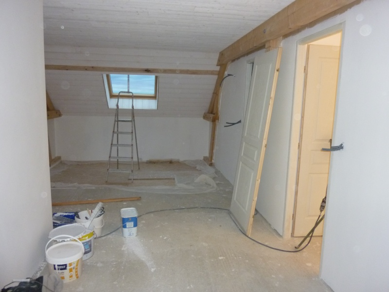 Couleur murs de la mezzanine - Couleur mur escalier ...