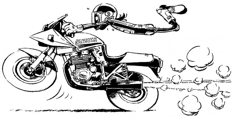 Bd motards page 8 - Dessin motard humoristique ...