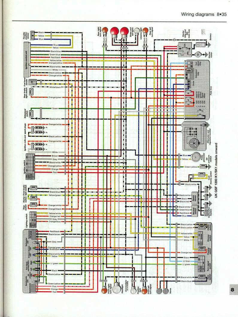 K5 Gsxr 600 Wire Diagram Great Design Of Wiring 2005 93 Harness Parts Suzuki