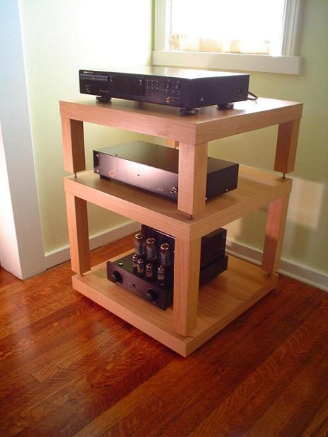 acrylic or wood board for equipment support. Black Bedroom Furniture Sets. Home Design Ideas