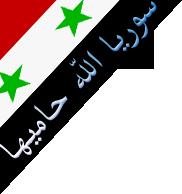 سوريا اللة حاميها