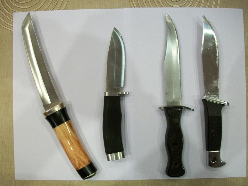 réfection d'un manche de couteau
