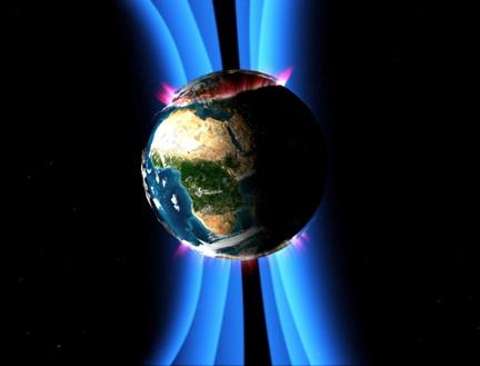 Importancia del campo magnetico terrestre para los seres vivos