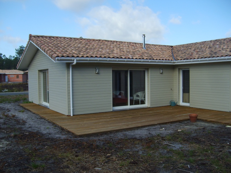 Toile d 39 ombrage sur ma terrasse bois - Baie vitree pour terrasse ...