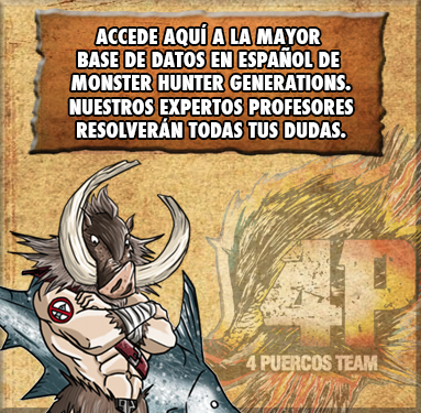 Guias de Monster Hunter Generations
