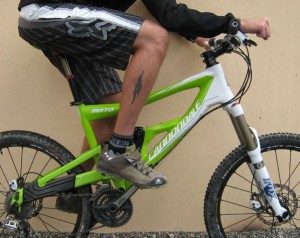 Cintre vtt cross country